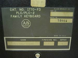 Allen Bradley Industrial Terminal w/ Family Keyboard - Cat ...