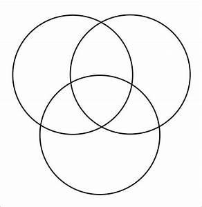 3 Circle Venn Diagram Template Microsoft Word  U2013 Lomer