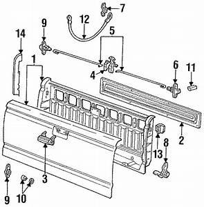 Ford Ranger Tailgate Lock Actuator Motor  Flareside