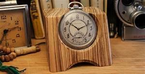Classic, Pocket, Watch, Desk, Clocks