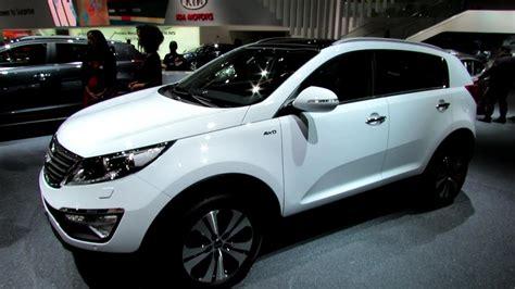 kia sportage diesel exterior  interior