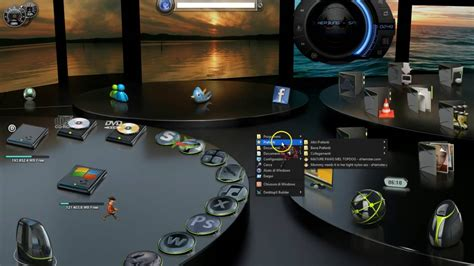 gadget de bureau windows 7 windows 7 8 10 theme desktop 3d