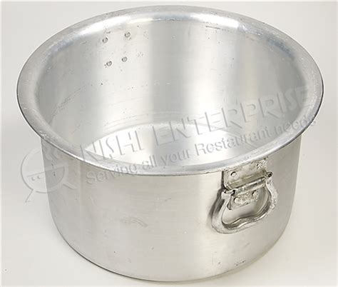 commercial kitchen faucets for home large size aluminum sauce pot or indian cooking patila for