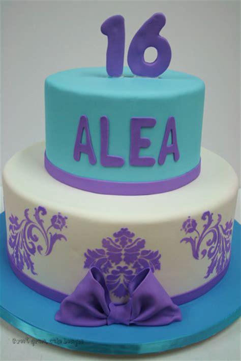 sweet  cakes nj purple  blue custom cakes