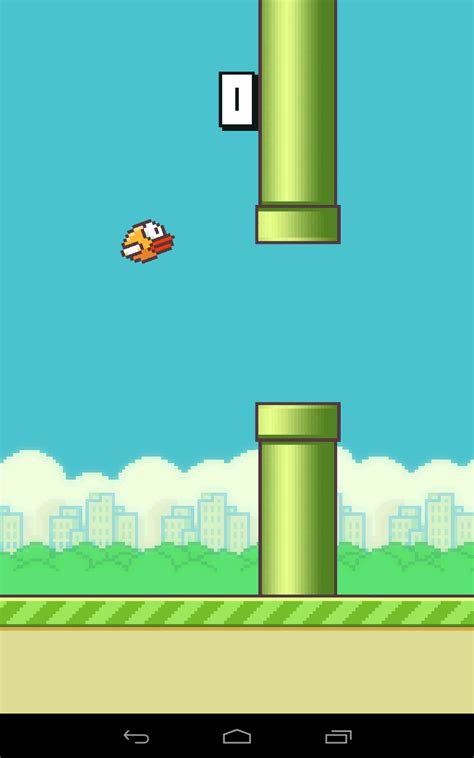 flappy bird simple  challenging