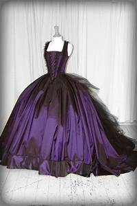 28 best images about purple wedding dresses on pinterest for Royal purple and white wedding dress
