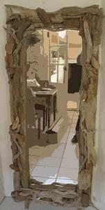 Miroir En Bois Flotté : miroir bois flotte for the home pinterest driftwood drift wood and originals ~ Teatrodelosmanantiales.com Idées de Décoration