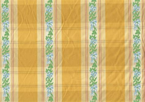 Striped Drapery Fabric by Designer Fabric Yellow Blue Embroidered Stripe Drapery