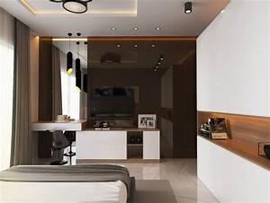 Deco Chambre Moderne : chambre de luxe de design moderne ~ Melissatoandfro.com Idées de Décoration