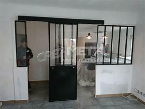 Verrière Intérieure Ikea : etude et fabrication s paration cuisine salon avec un ~ Melissatoandfro.com Idées de Décoration