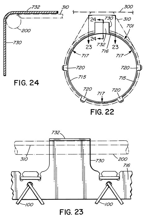regulation basketball hoop size patent us6440014 apparatus for releasably connecting a