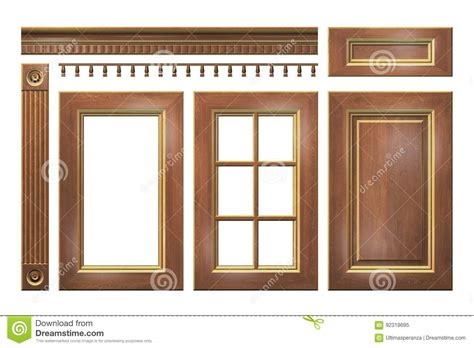 kitchen cabinet cornice banister illustrations vector stock images 2436