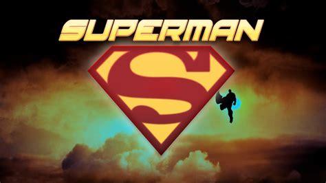 Superman / Man Of Steel Logo Wallpaper 1920x1080 by ...