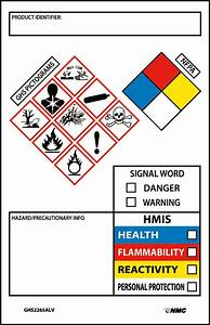 ghs secondary container labels picto images hmis nfpa With ghs hazard labels