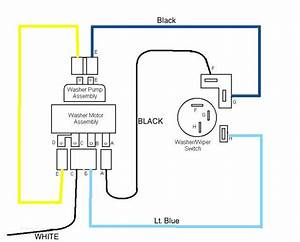 1965 Chevy C10 Wiper Motor Wiring Diagram