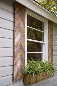 20 reclaimed wood ideas messagenote for Barnwood shutters