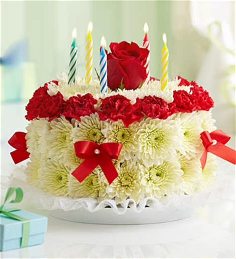 Birthday Flower Cake Delivery