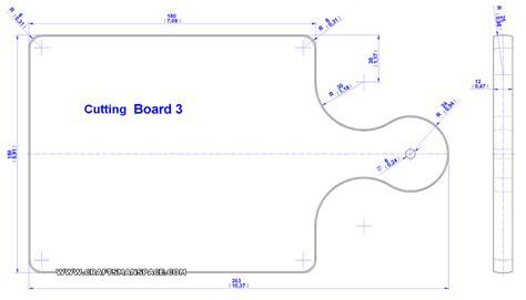 cutting board template kitchen cutting board plan
