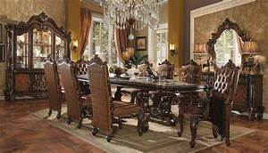 Versailles Dining Table Cherry Oak By ACME 61100