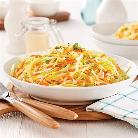 cuisine choux salade de chou crémeuse recettes cuisine et nutrition