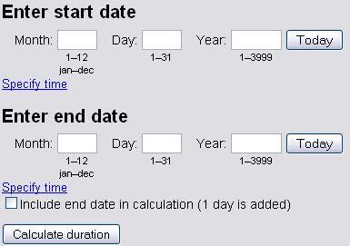 offline date calculator software web cool tips