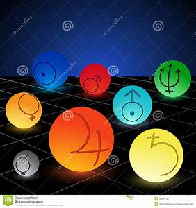 Planet stock vector. Image of physics, globe, astrology ...