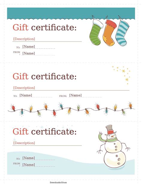 Gift Certificate Template Gift Certificate Template 2 Pdf Pdf Format E Database Org