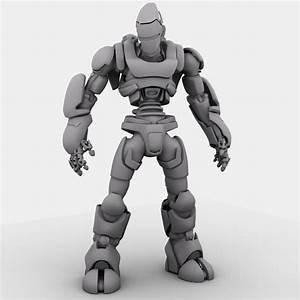 Robot 01 3d Model  U2013 Buy Robot 01 3d Model
