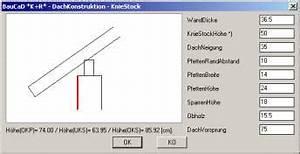 Dachneigung Berechnen Pultdach : dialogfenster ~ Themetempest.com Abrechnung