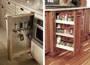 Quick question -- cabinet pull on narrow pull-out spice rack