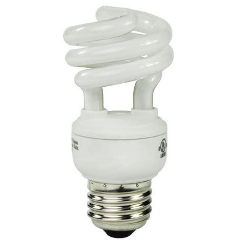 9 watt compact fluorescent cfl 2700k warm white