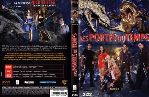 nick cutter et les portes du temps jaquette dvd de nick cutter les portes du temps saison 4 cin 233 ma