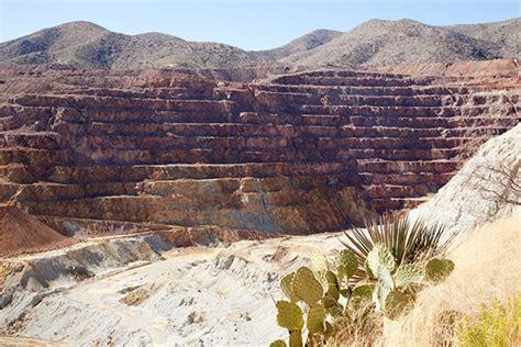 Lavender Pit Freeport McMoRan Copper & Gold Bisbee Arizona ...