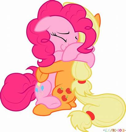 Pony Friendship Hug Hugs Magic Pinkie Reply