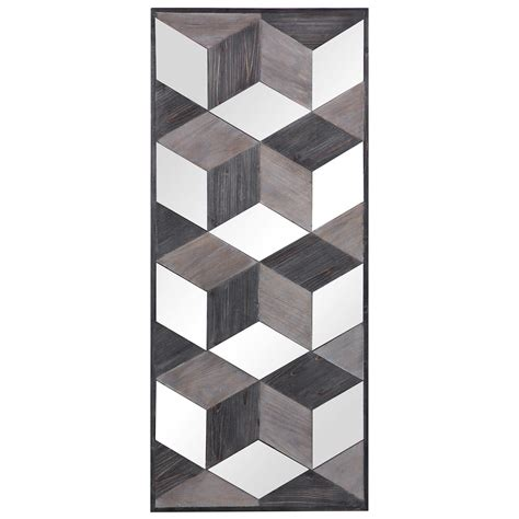 The softness of the feathers and the texture. Uttermost Alternative Wall Decor 04235 Ambie Mirrored Wall ...