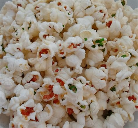 colored popcorn happier than a pig in mud colored popcorn