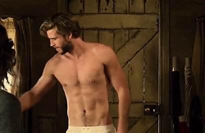 Hemsworth Liam Shirtless Dressmaker Guys