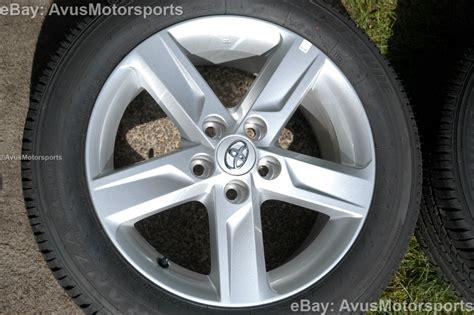 New 2013 Toyota Camry Oem 17