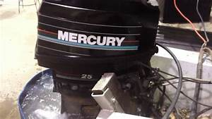 Mercury 25hp Outboard Motor
