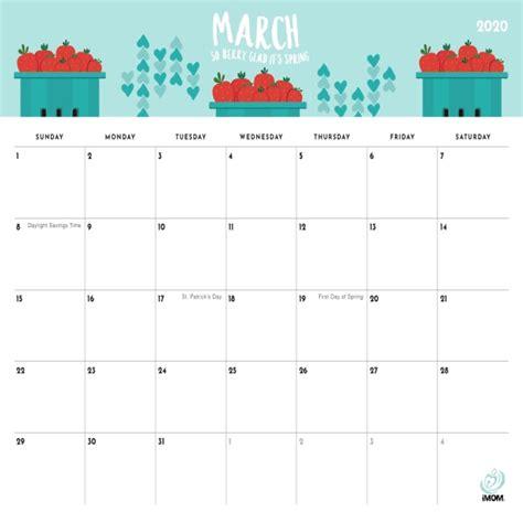 foodie printable calendar  moms imom