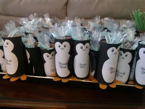 penguin party favors super cute  easy baby jade
