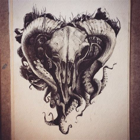 animal skull tattoo designs images  pinterest