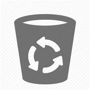 Bin, can, delete, empty, litter, recycle, trash icon ...