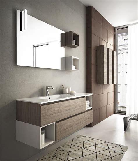 arredo bagno rosso mobili da bagno moderni collezione componibile