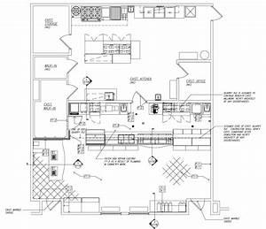 Cafe Kitchen Layout - Interior Design