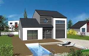 Maison En L Moderne : dessin maison moderne facile ~ Melissatoandfro.com Idées de Décoration