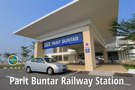 Parit Buntar Railway Station