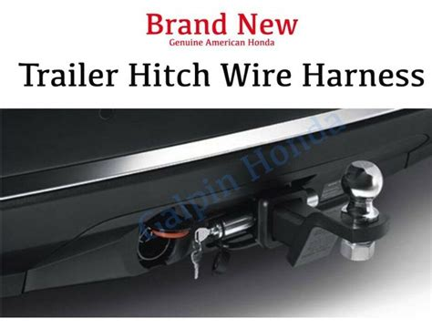 2013 Honda Pilot Tow Wire Harnes by Hitch Wiring Harness For Honda Wiring Library