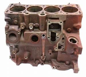 Engine Bare Cylinder Block 87-89 Vw Jetta Gli Golf Gti Mk2 1 8 16v