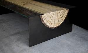 Tischdecken Für Lange Tische : baumstammtisch infinity wohnung ~ Buech-reservation.com Haus und Dekorationen